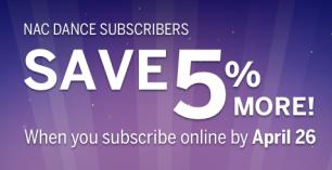 Dance save 5 percent - promo