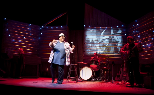 Jackie Richardson in Big Mama!
