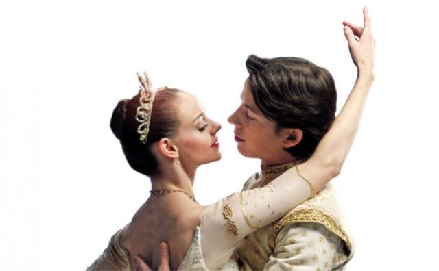 Jo-Ann Sundemeier and Dmitri Dovgoselets in The Sleeping Beauty
