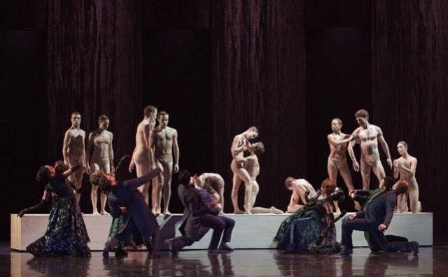 Artists of Les Grands Ballets Canadiens de Montréal in Rodin/Claudel