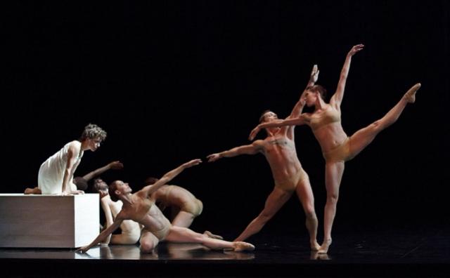 Émilie Durville with Artists of Les Grands Ballets Canadiens de Montréal in Rodin/Claudel