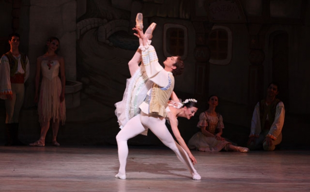 Martha Chamberlain and Zachary Hench in Coppélia