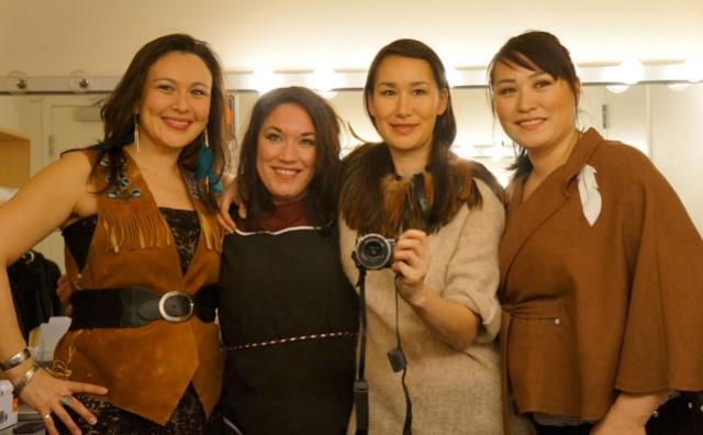 Leela Gilday, Sylvia Cloutier, Nive Nielsen and Diyet