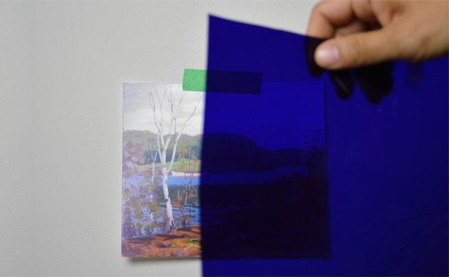 Jon Sasaki, <i>Day for Night</i>, studio documentation 2014.