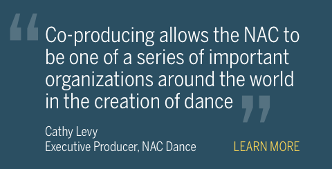 NAC Dance collaborations promo