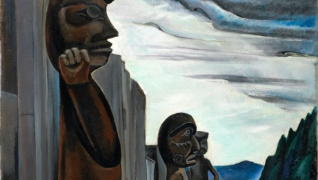 Emily Carr, <em>Blunden Harbour,</em> c. 1930. (detail) | Oil on canvas, 129.8 x 93.6 cm. Purchased 1937. National Gallery of Canada, Ottawa. Photo: NGC