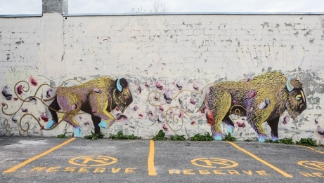 Mural by Jessica Canard