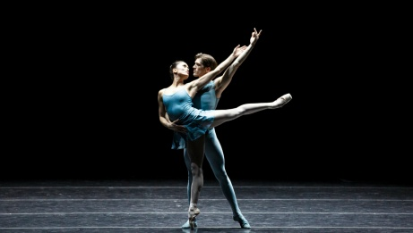 Lia Cirio et Patric Palkens dans Blake Works I de William Forsythe | Angela Sterling