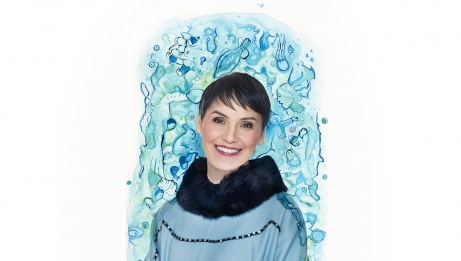 Susan Aglukark,  GRAPHISME : Heather Campbell | Denise Grant Photography