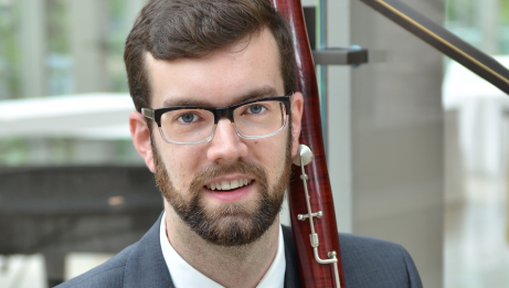 Darren Hicks, bassoon | Nicola Betts