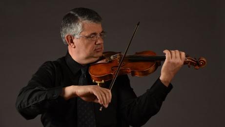 Edvard Škerjanc, violin, NACO | Fred Cattroll