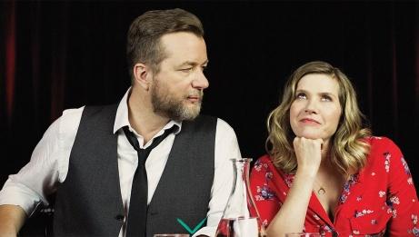 Luc De Larochelière and Andrea Lindsay
