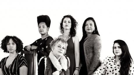 Jane Bunnett et Maqueque - Yissy Garcia, Jane Bunnett, Tailin Marrero, Dánae Olano et Mary Paz.