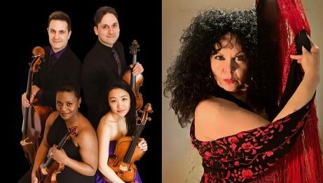 The Odin String Quartet and Carmen Romero