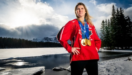 Hayley Wickenheiser | Photo credit: Dave Holland