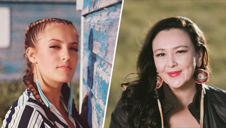 Ila Barker and Leela Gilday | Tiffany Spence and Pat Kane