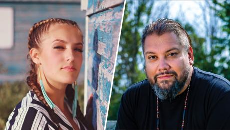 Ila Barker and DJ Shub | Tiffany Spence and Francesco Giorgio