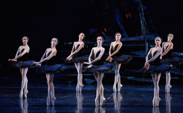 Artists of the Ballet in Swan Lake